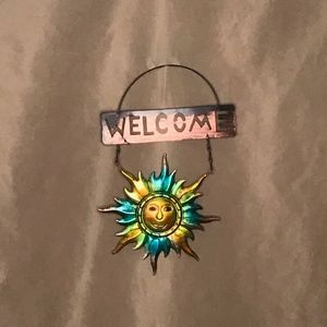 Other - Hanging Sun Welcome Sign
